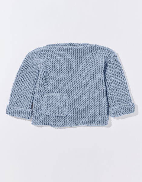 Angel eye sweater cc overhead stw powder blue