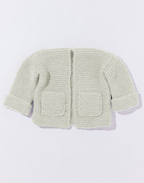Chance cardigan mb overhead stw ivory white