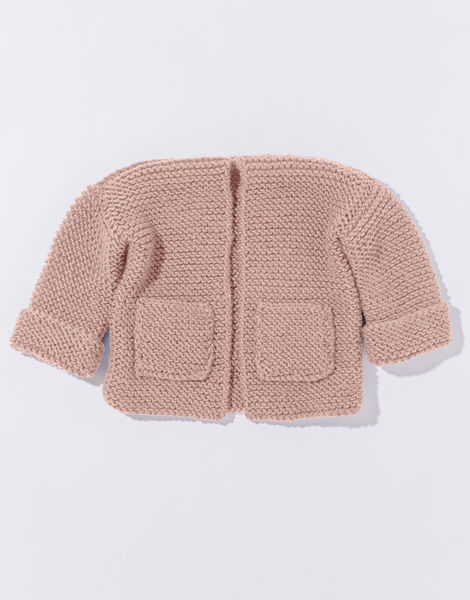 Chance cardigan mb overhead stw pink blush