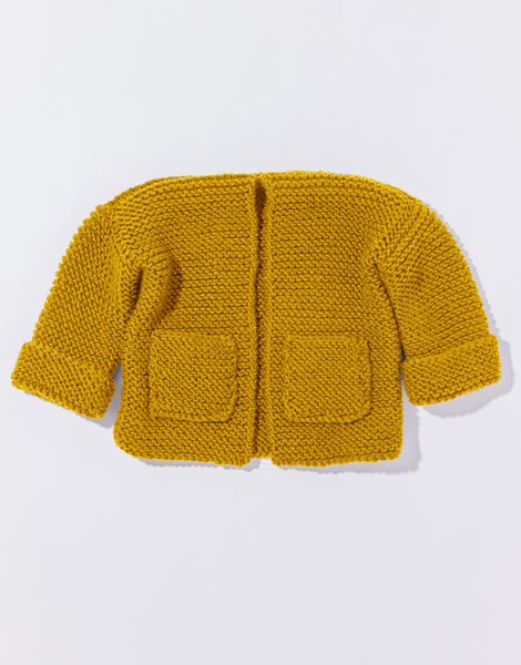 Chance cardigan mb overhead stw mustard sally