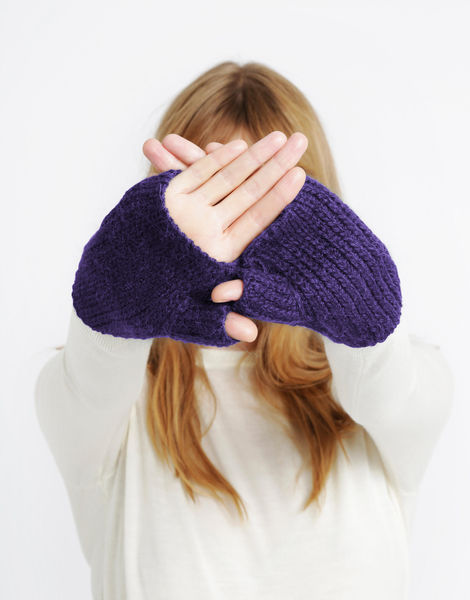 Full of love mittens sba ultraviolet