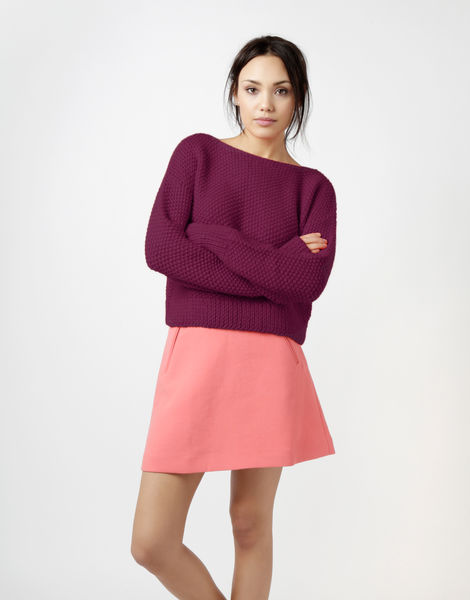 Superbowl sweater sba margaux red