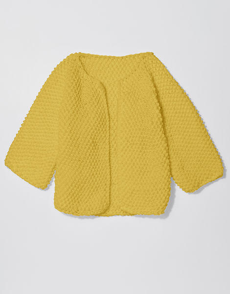 Chillax cardi shc chalk yellow