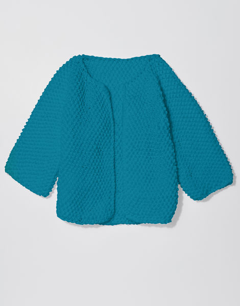 Chillax cardi shc turquoise waters