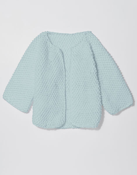 Chillax cardi shc duck egg blue