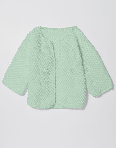 Chillax cardi shc spearmint green