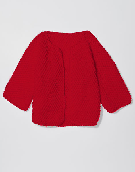 Chillax cardi shc true blood red