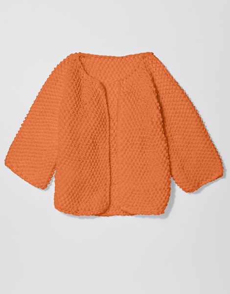 Chillax cardi shc bazaar orange