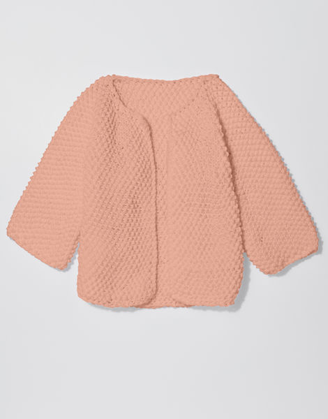 Chillax cardi shc perfect peach