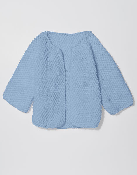 Chillax cardi shc powder blue