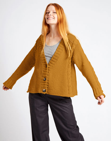 Second wave cardigan nwy bronzed olive