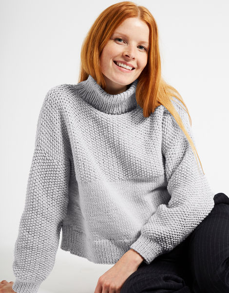 Mother of pearl sweater nwy white noise
