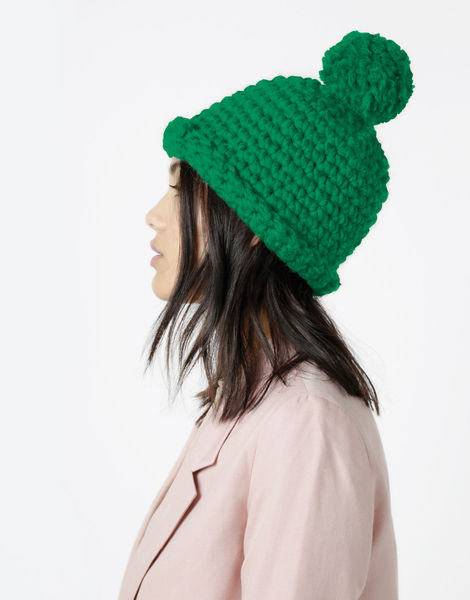 Burn it up beanie csw emerald green