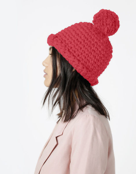 Burn it up beanie csw candy red