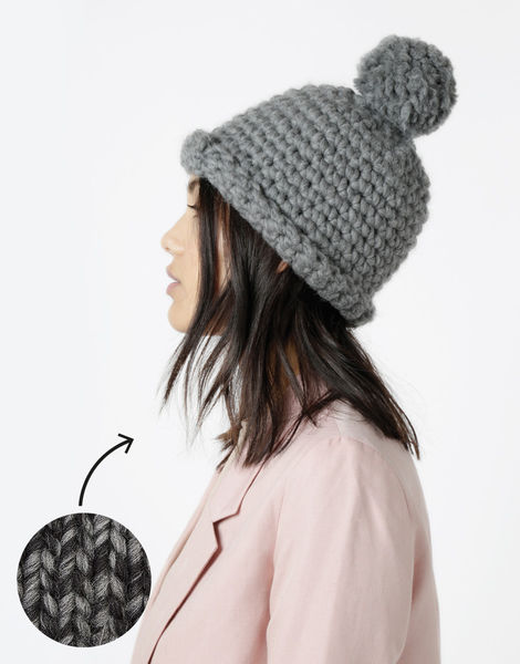 Burn it up beanie csw shacklewell grey