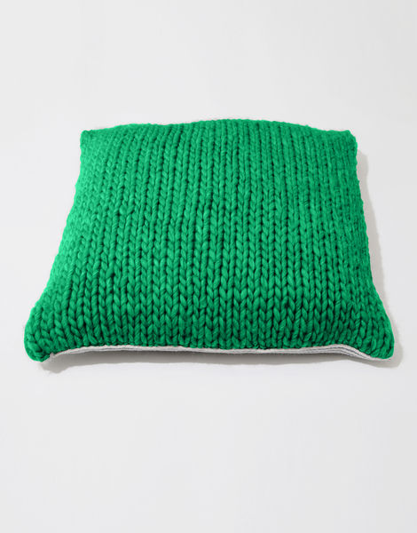 Carey cushion csw emerald green