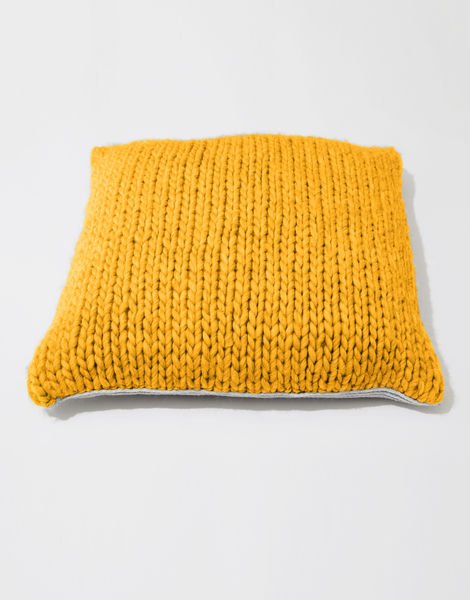 Carey cushion csw mustard sally