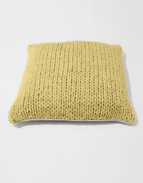 Carey cushion csw chalk yellow