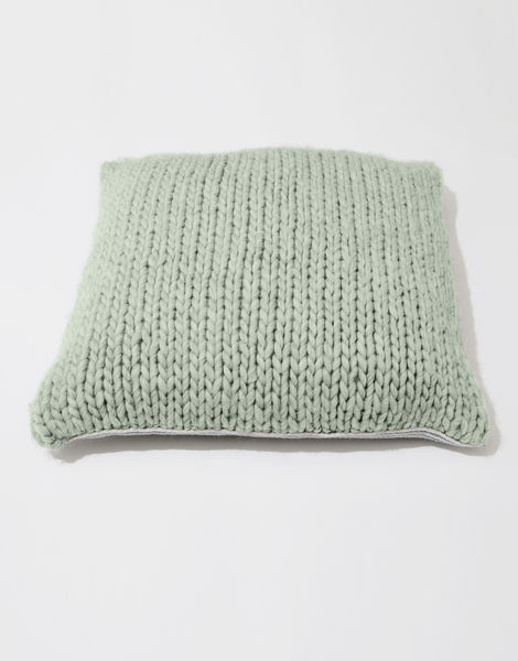 Carey cushion csw eucalyptus green