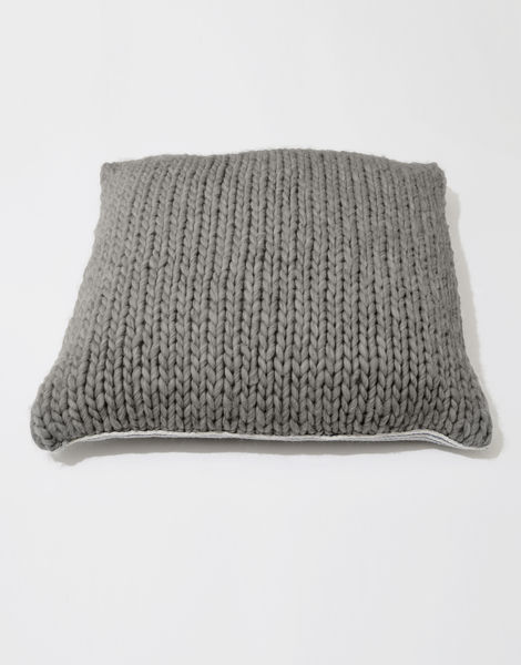 Carey cushion csw tweed grey