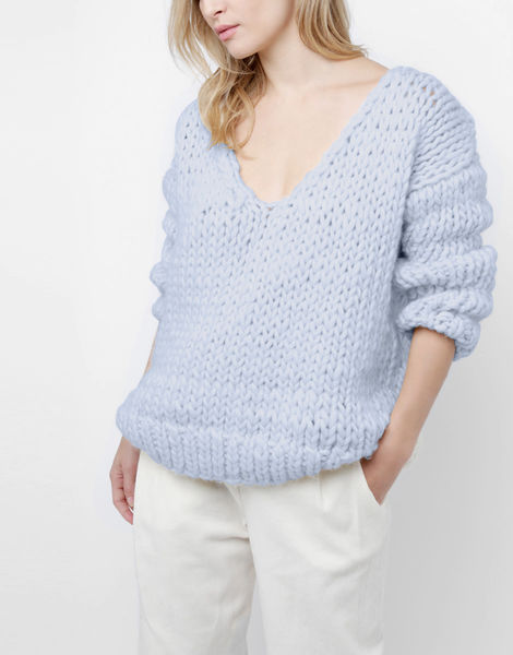 Way wool sweater csw purple haze