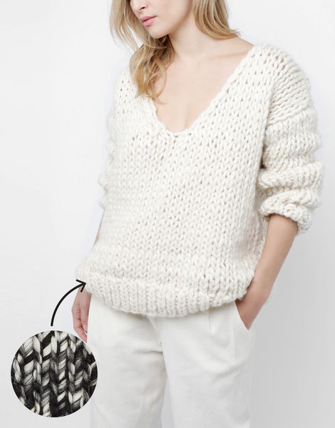 Way wool sweater csw tv static