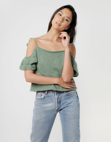 Joy ride top shc eucalyptus green
