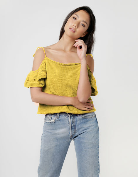 Joy ride top shc chalk yellow