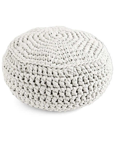 Pouf panther trueblue jbg snow whites