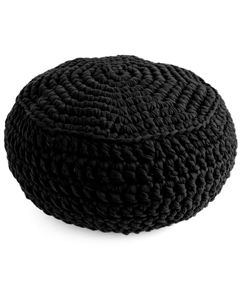 Pouf panther trueblue jbg pop noir