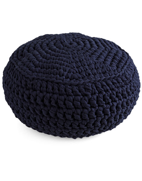 Pouf panther trueblue jbg in the navy