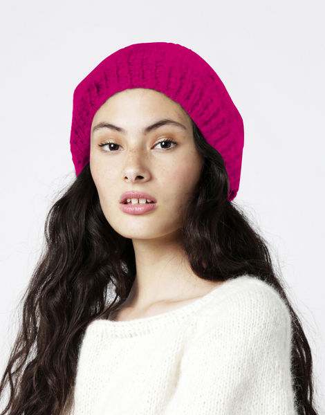 Rock steady beanie2 fgy hot punk pink