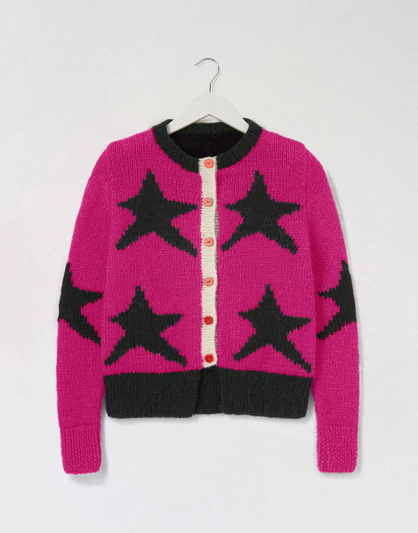A star is born cardigan pink shc hot punk pink