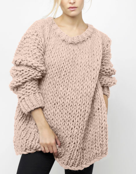 Wonderwool sweater csw cameo rose