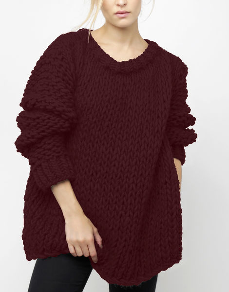Wonderwool sweater csw bordeaux