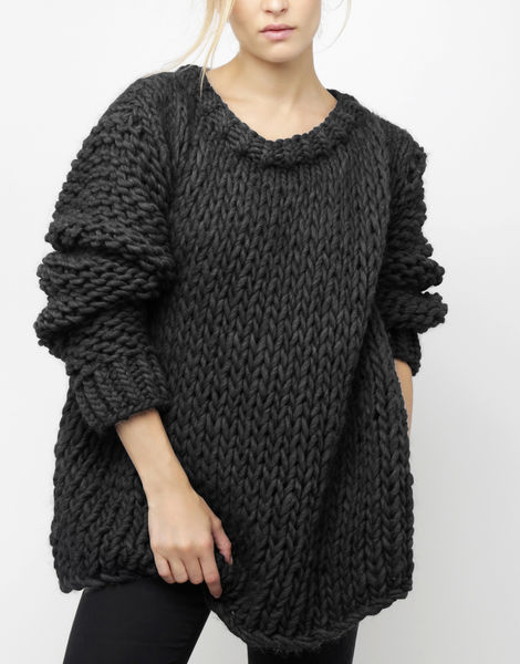 Wonderwool sweater csw charcoal