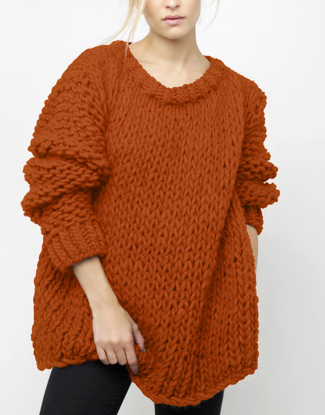 Wonderwool sweater csw cinnamon dust