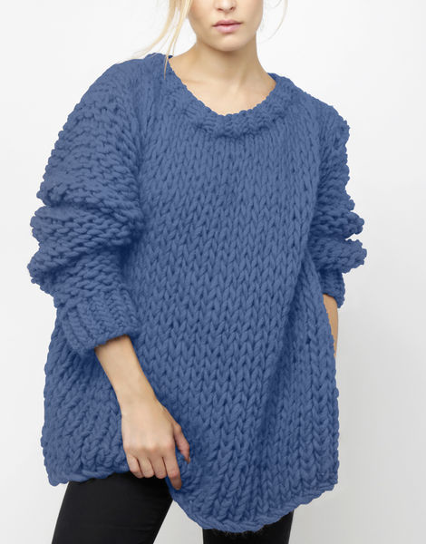 Wonderwool sweater csw dusty denim