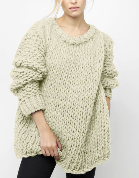 Wonderwool sweater csw ivory white