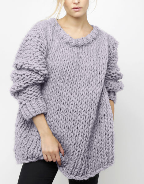 Wonderwool sweater csw lilac powder