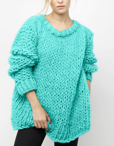 Wonderwool sweater csw magic mint