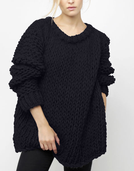 Wonderwool sweater csw midnight blue