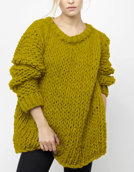 Wonderwool sweater csw moss green