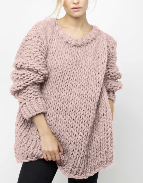Wonderwool sweater csw mellow mauve