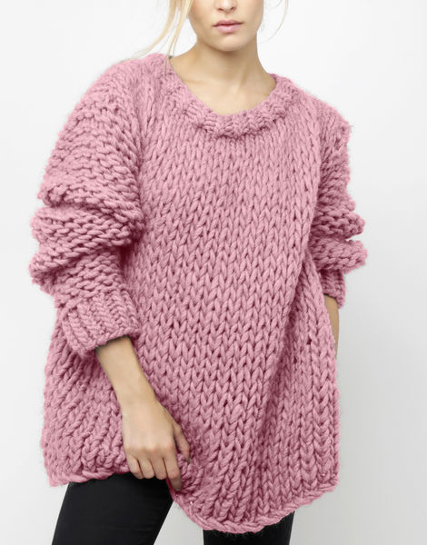 Wonderwool sweater csw pink lemonade