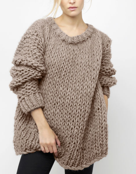 Wonderwool sweater csw sandtrooper beige