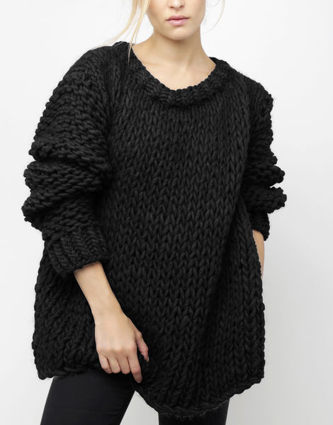 Wonderwool sweater csw space black