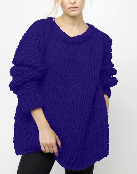 Wonderwool sweater csw ultra violet