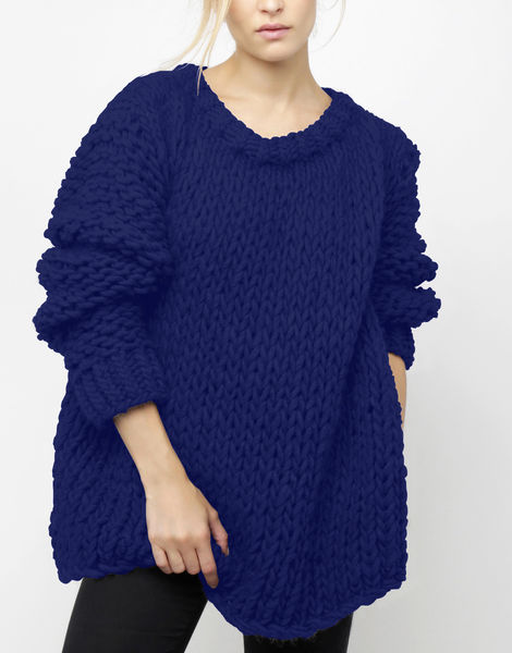 Wonderwool sweater csw zoot suit blue