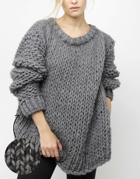 Wonderwool sweater csw shacklewell grey